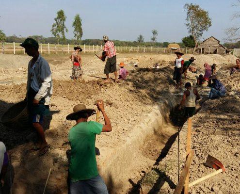 Mayangone groundwork